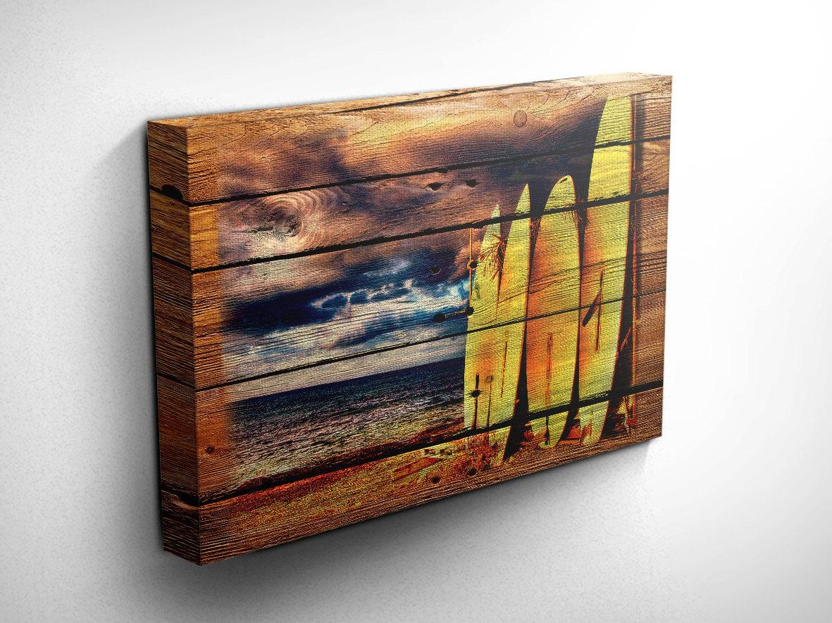 Wood Decorative Wall Art 20 Photos Surf Board Wall Art Wall Art Ideas