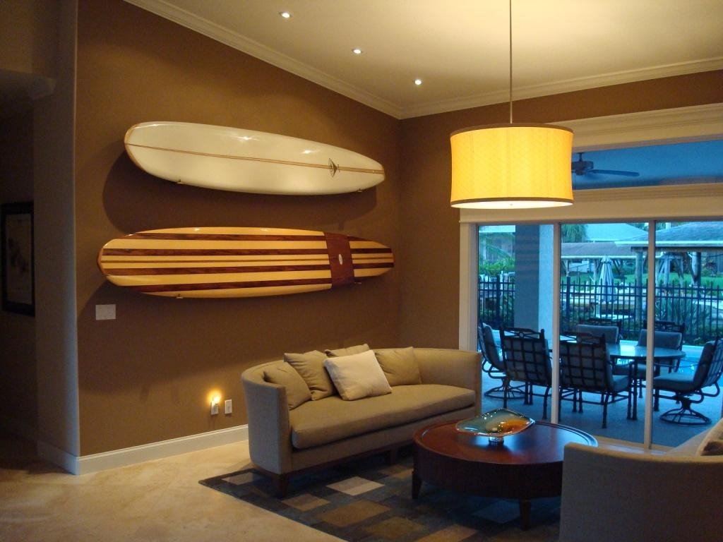 20 Photos Surf Board Wall Art Wall Art Ideas