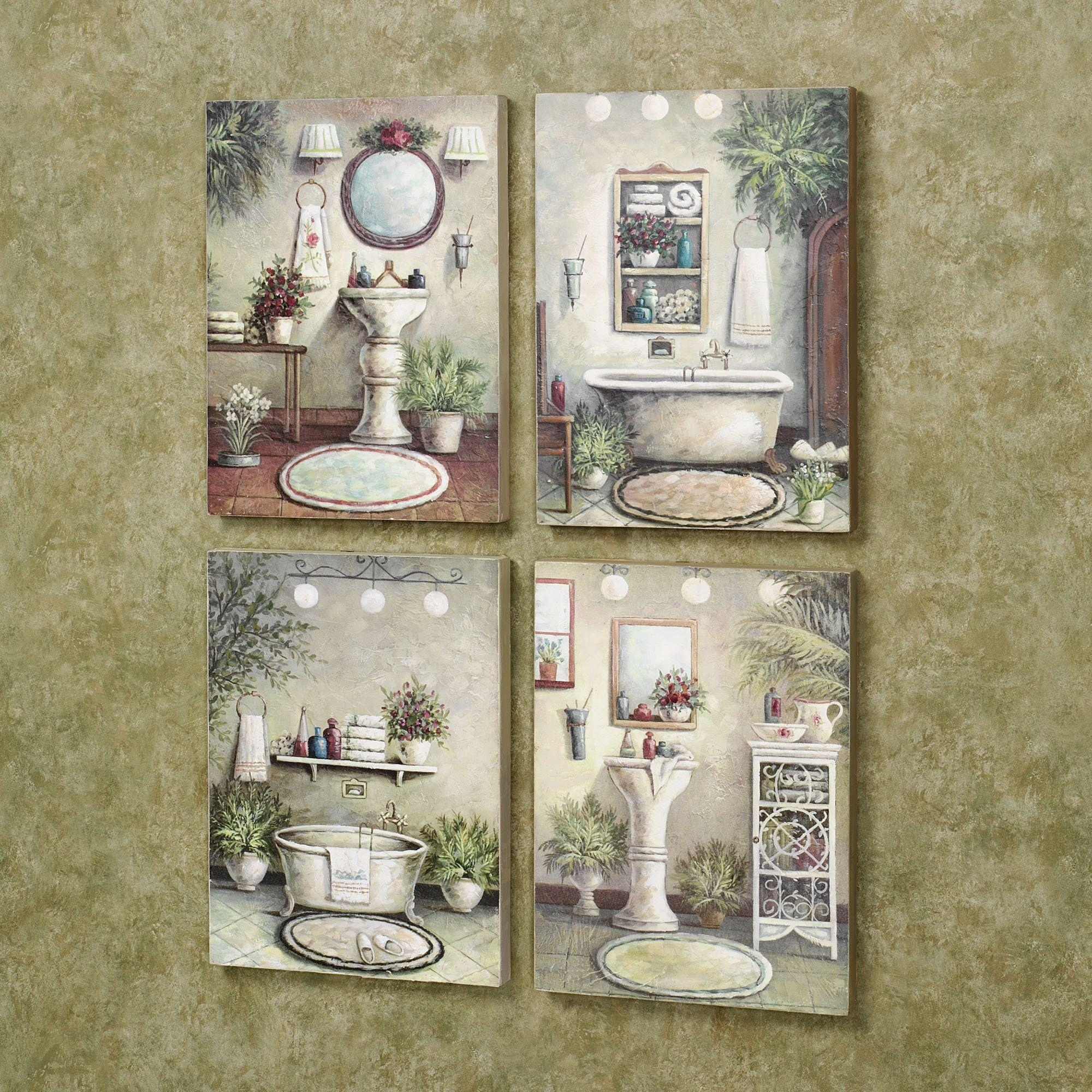 Bathroom Wall Art And Decor 20 Best Italian Wall Art For Bathroom Wall Art Ideas