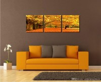 20 Collection of Three Piece Canvas Wall Art