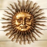 20 Top Large Metal Sun Wall Art | Wall Art Ideas