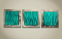 20 Top Brown and Turquoise Wall Art | Wall Art Ideas