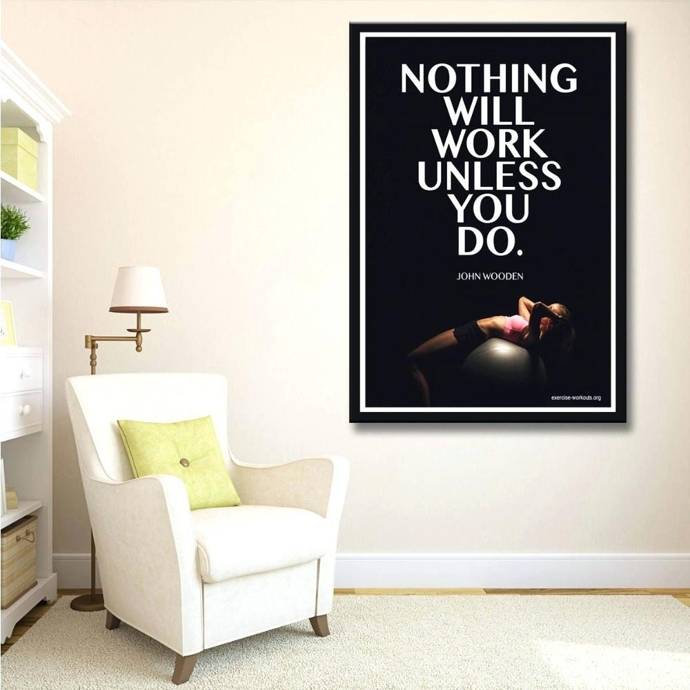 20 Inspirations Wall Art for Home Gym