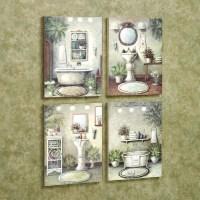 20 Top Glamorous Bathroom Wall Art | Wall Art Ideas