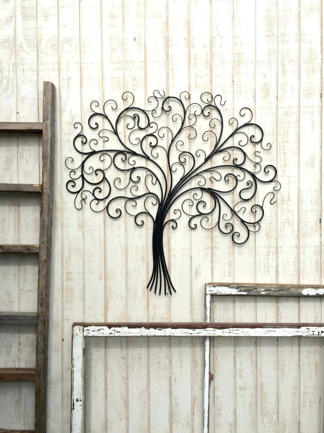 Art Decor 20 Ideas Of Large Wrought Iron Wall Art Wall Art Ideas