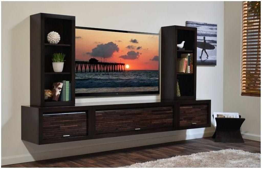 20 Best Ideas Wall Mounted Tv Cabinets For Flat Screens