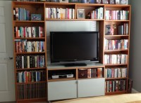 2018 Latest Tv Stands and Bookshelf | Tv Cabinet And Stand ...