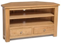 Related Ideas: Salisbury Light Oak Corner Tv Unit