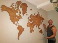 20 Best Africa Map Wall Art | Wall Art Ideas