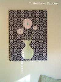 2018 Latest Fabric Applique Wall Art | Wall Art Ideas