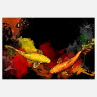 15 Best Collection of Koi Canvas Wall Art | Wall Art Ideas