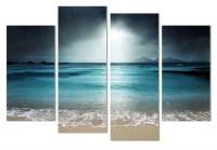 15 Ideas of Canvas Wall Art Beach Scenes   Wall Art Ideas