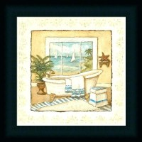 15+ Choices of Framed Art Prints for Bathroom