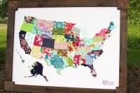 15 Collection of Mod Podge Fabric Wall Art