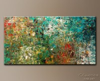 15 Best Modern Abstract Huge Oil Painting Wall Art | Wall ...