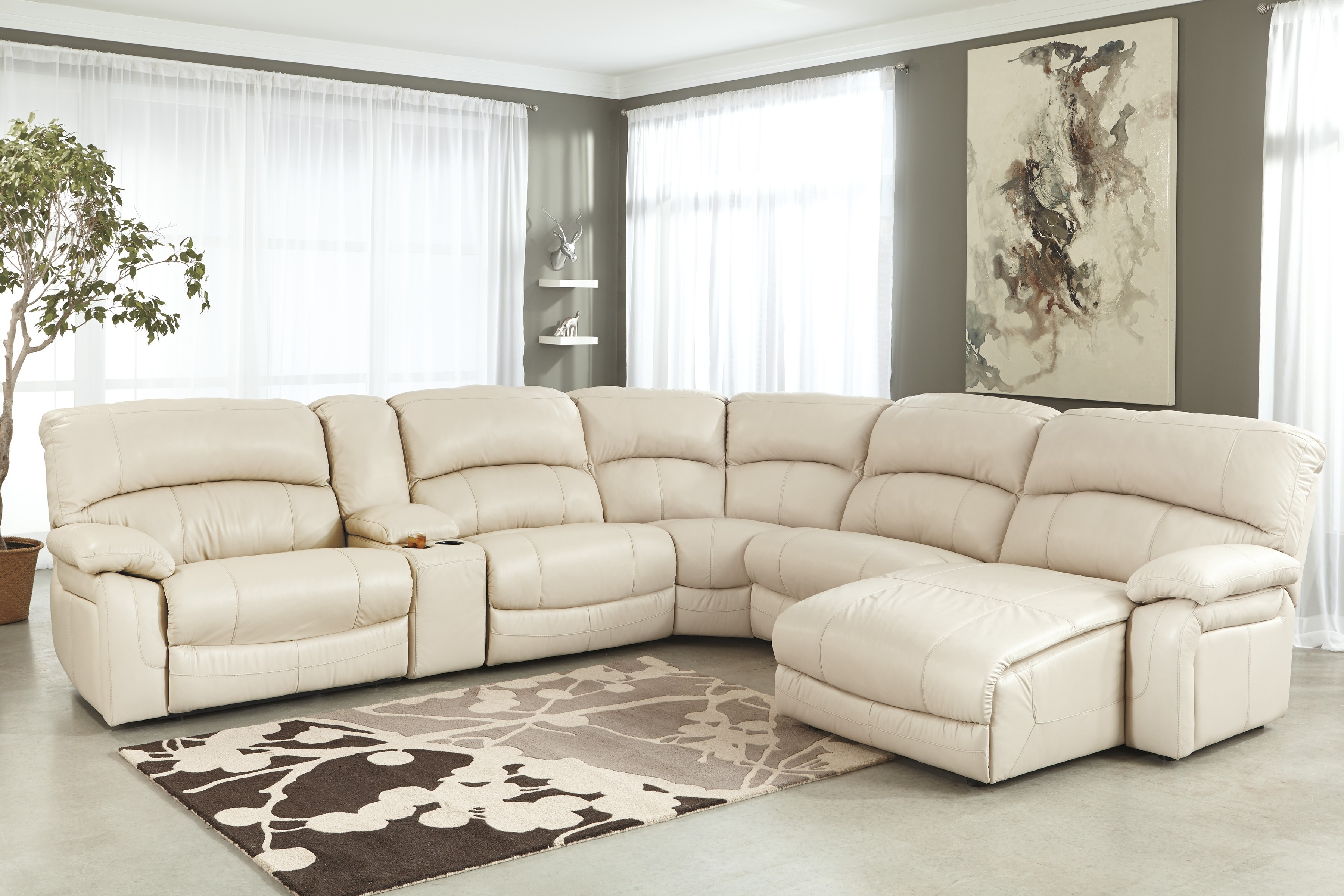 Grey Half Couch 10 Best Collection Of U Shaped Leather Sectional Sofas