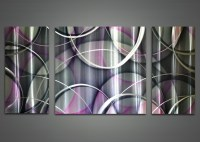 15+ Choices of Purple and Grey Abstract Wall Art | Wall ...
