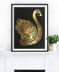 25 Best Ideas Gold Foil Wall Art | Wall Art Ideas