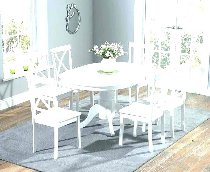 25 Choices Of White Round Extendable Dining Tables
