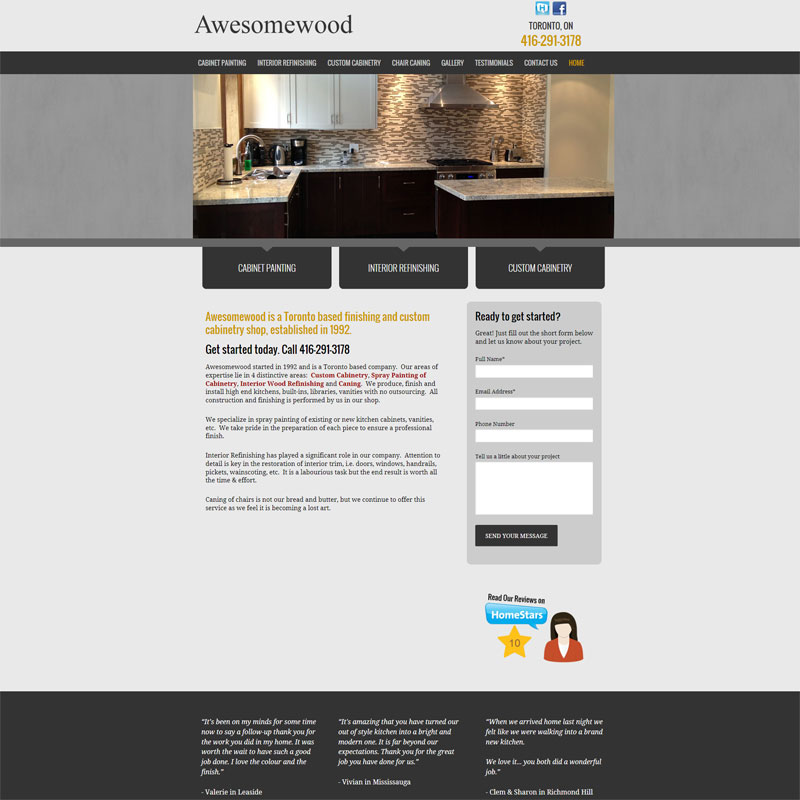 Custom Wordpress Theme
