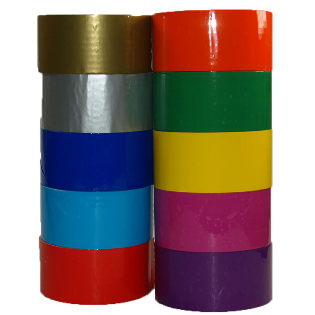 Tape Bunt Farbiges Packband Klebeband 50mm X 66m Paketband Pp Leise