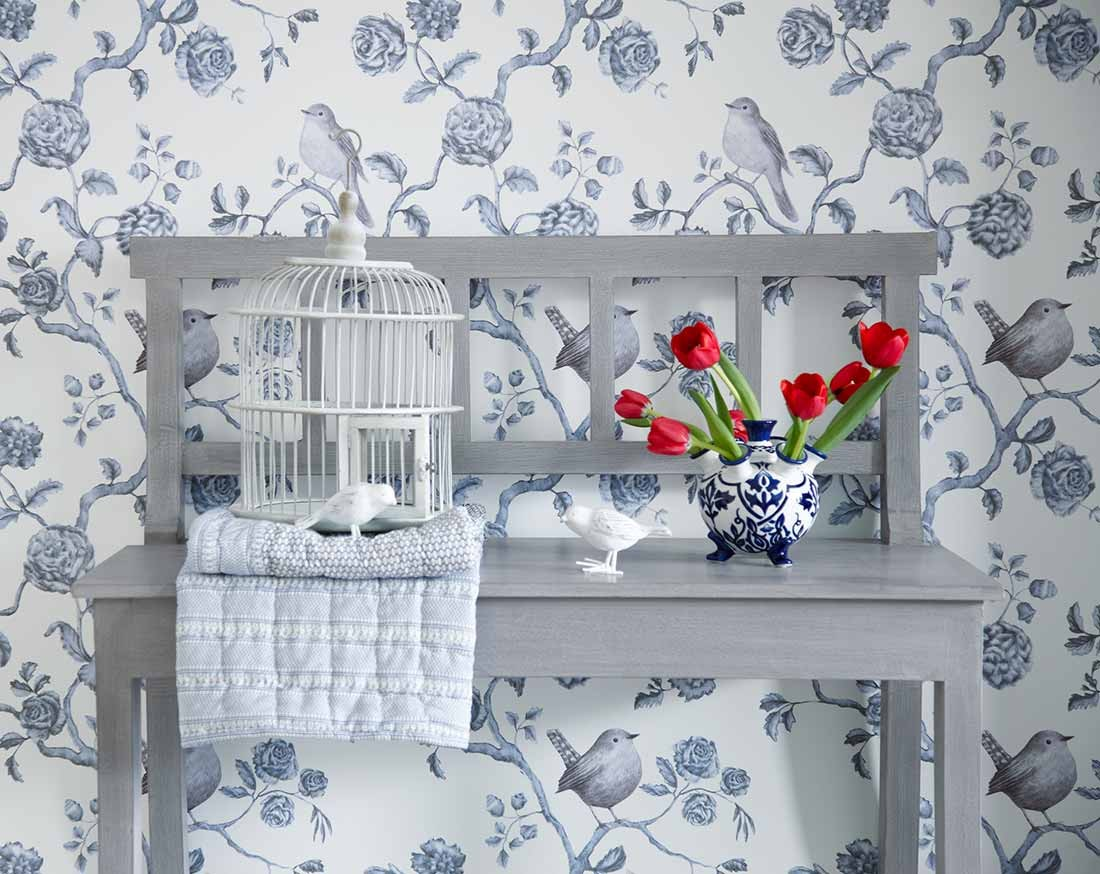 Bad Tapeten Landhausstil English Country Cottage Tapetentrends Lookbook Tapeten