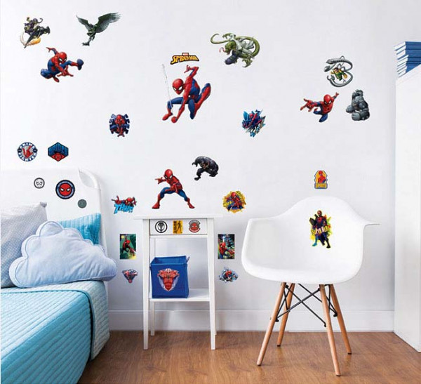 Toy Story Bettwäsche Walltastic Wandsticker Marvel Spiderman | Tapetenwelt