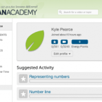 Khan Academy | Select Coaches Under the Community Header