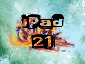 Apple iPad Deployment Backgrounds | Number Your Class Set of iPads, iPods, Android Tablets #21