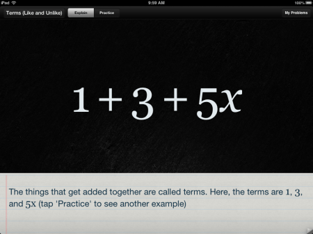 Algebra Touch | Math Help iPad iOS App | Fun & Easy Algebra