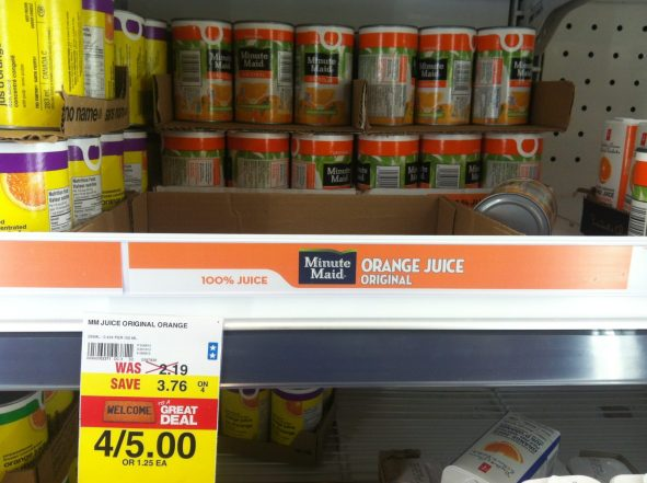 Finding the Unit Cost of Orange Juice - Real World Mathematics