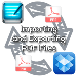 Importing and Exporting Files between GoodNotes and Dropbox
