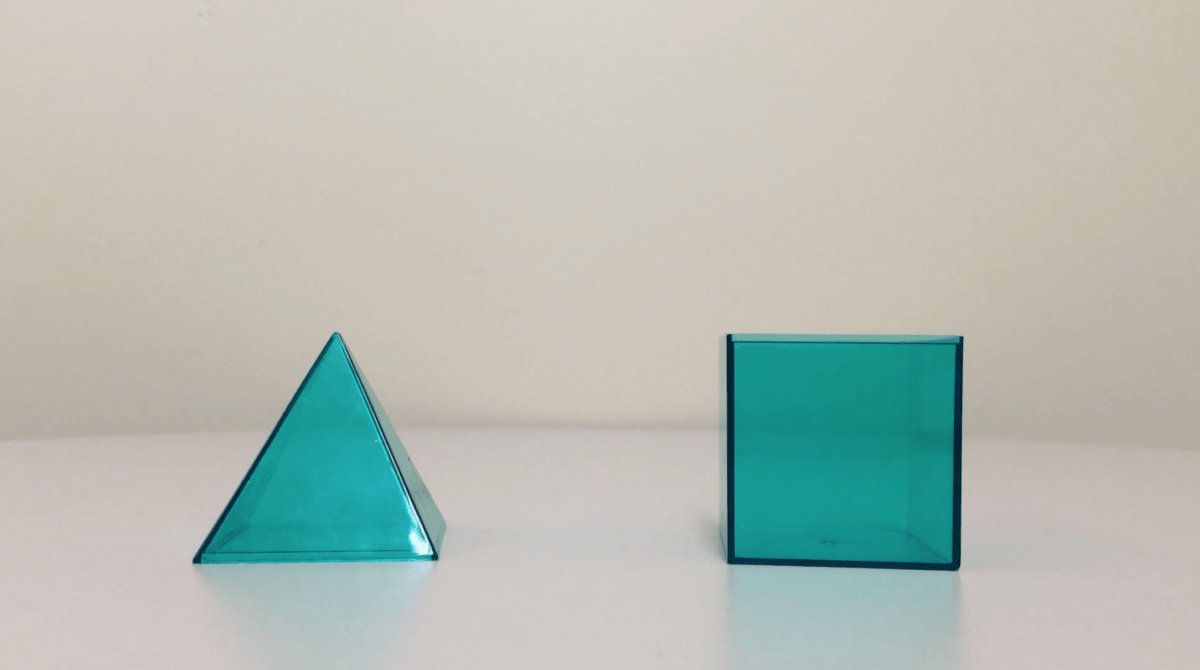Prisms and Pyramids [3 Act Math Task]
