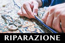 RIPARAZIONE e restauro tappeti milano