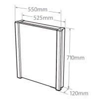 Roper Rhodes | Illusion Aluminium Bathroom Cabinet