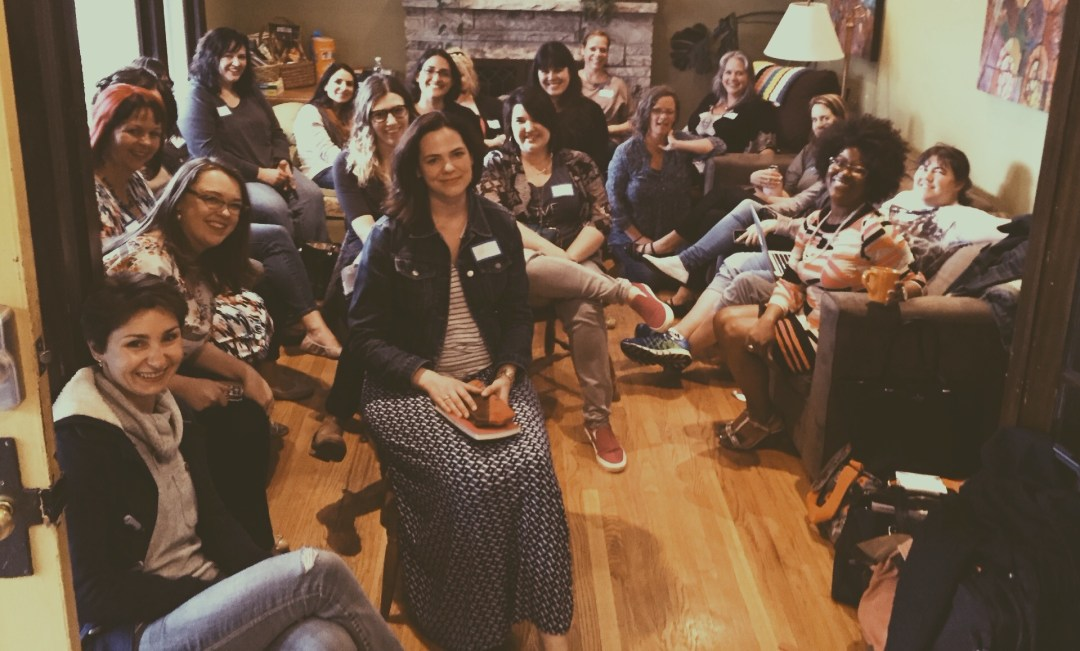 Really, sometimes it helps to just get awesome people in a living room.