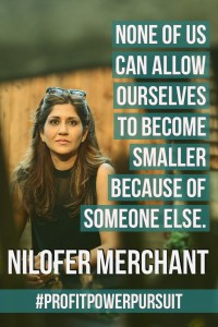 Nilofer Merchant on Profit. Power. Pursuit.