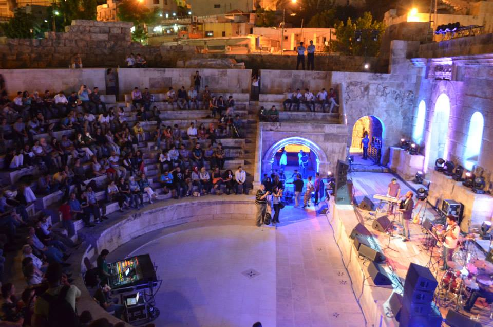 Tamer Abu Ghazaleh at Al Balad Music Festival