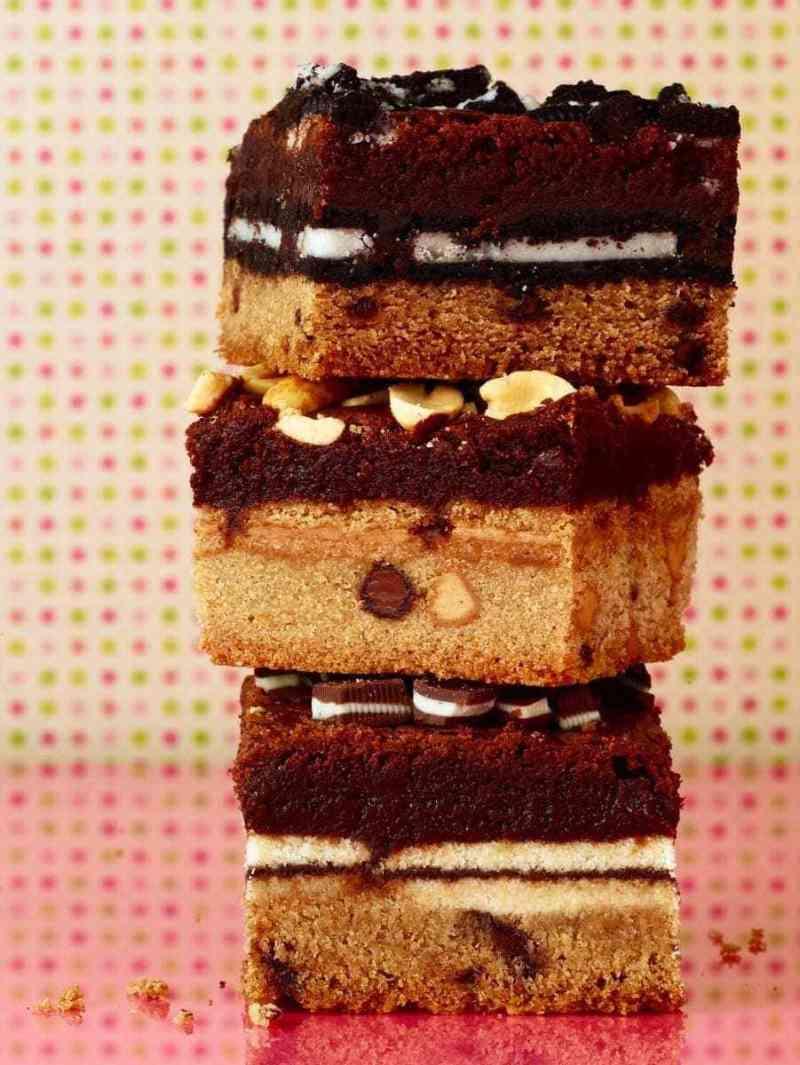 Large Of Slutty Brownies Recipe
