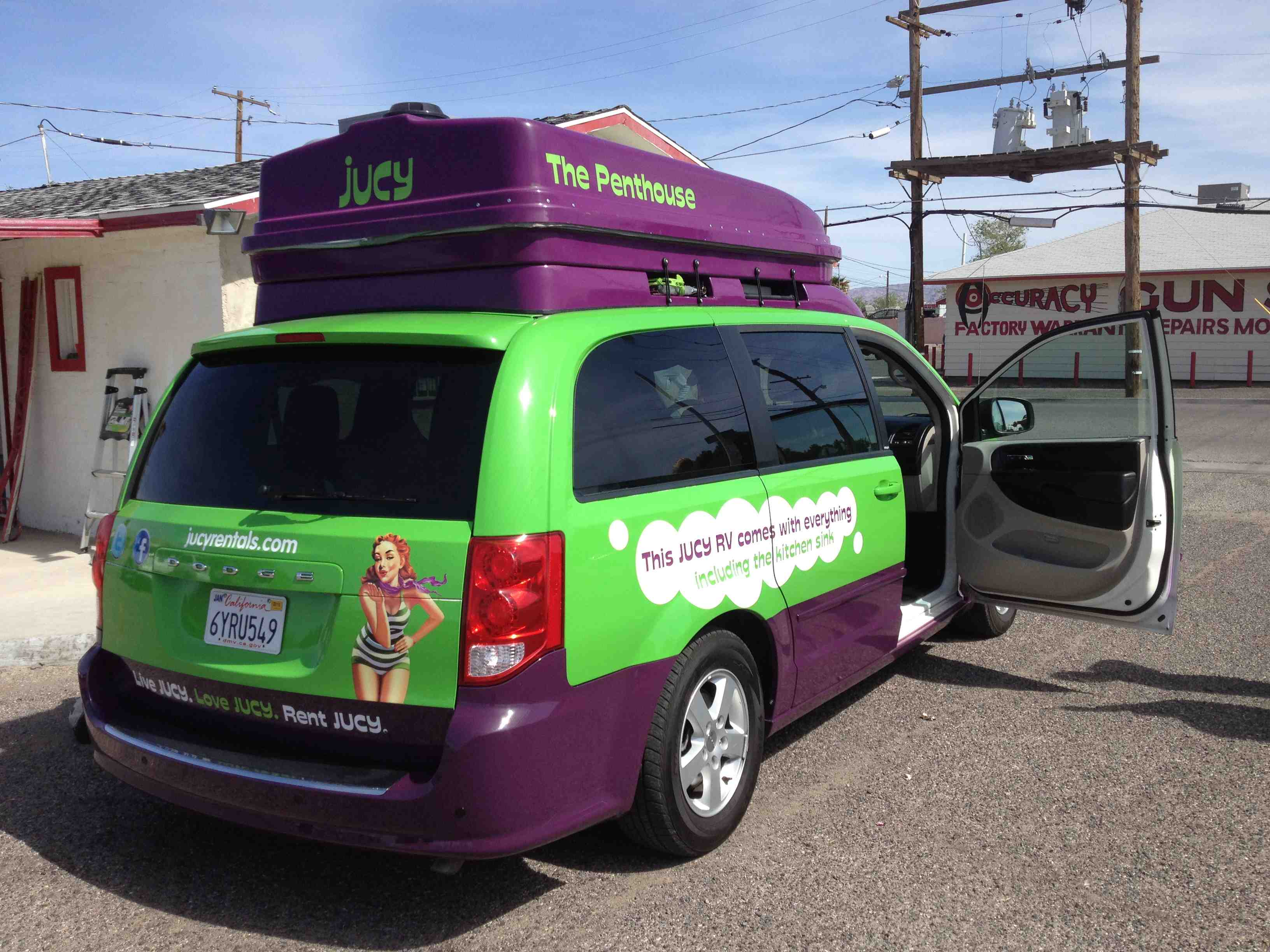 Epic Car Hire Jucy Relocation Vans Are Awesome