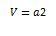 Cubo o hexaedro formula solido