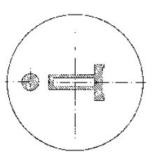 Dadocon abertura adicional para balancear el flujo