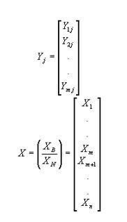 Vector a j- X