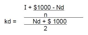 Aproximación del costo