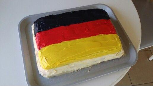 علم المانيا بالاكل
