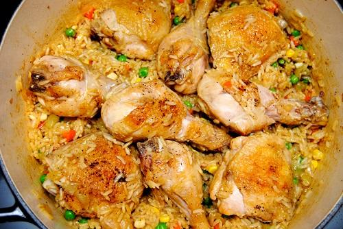 وصفات ارز بالدجاج سهلة و شهية