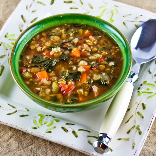 شوربة خضار للدايت السبانخ افضل double-lentil-soup-5