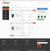 Dokan Edit Product Variations