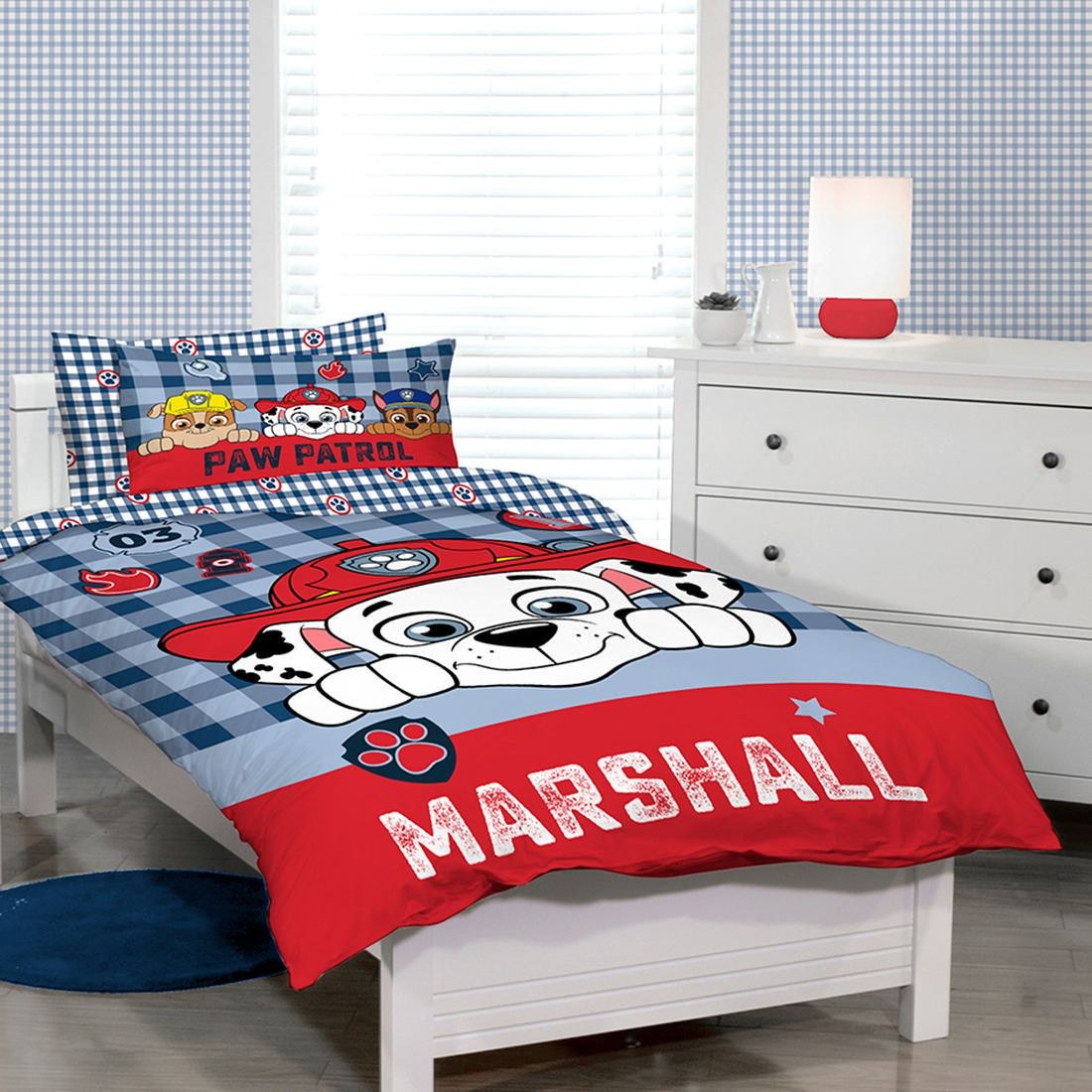 Boys Double Quilt Cover Paw Patrol Quilt Cover Set