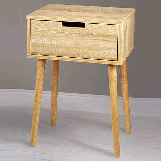 Target Australia Furniture Side Table With Drawer Wood Look
